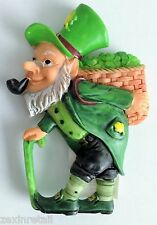 Lucky Irish Leprechaun Fridge Magnet 6.5cm - 8cm Gift Novelty Decorative Resin