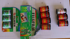 Advanced Photo System 24mm & Standard 35mm Film some Sealed all Expired Fuji 007