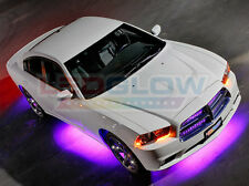 Underbody Light Kit LU-S09 With Wireless Remote LED 4 Piece PURPLE