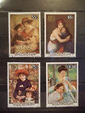 4 Briefmarken Satz, Cook Islands, International youth year, gestempelt