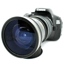 Ultra Wide Angle Macro Fisheye Lens for Canon T6i T6s T5i T4i T3i T2i SLR Camera