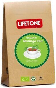 Organic Certified Moringa Tea,pure natural caffeine free 20 Teabags