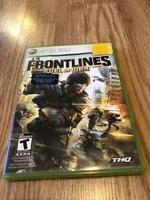 Frontlines: Fuel of War (Microsoft Xbox 360, 2008) VC9