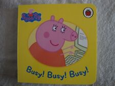Peppa Pig Book - Busy! Busy! Busy! - Board Book - Brand New - RRP £3.99