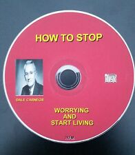 NEW! DALE CARNEGIE HOW TO STOP WORRING AND START LIVING  CD mp3