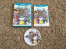 Super Smash Bros. (Nintendo Wii U 2014) Complete w/ Booklet! Free Shipping!