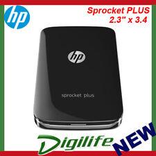 """HP Sprocket PLUS Mobile Photo Printer Black 2FR86A 2.3"""" x 3.4"""""""