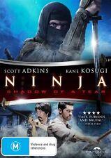 Ninja - Shadow Of A Tear (DVD, 2014) S Adkins K Kosugi M Hijii S Sugata LIKE NEW