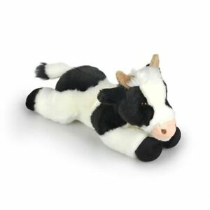 "Cow Cuddles Soft Toy 13""/33cm laying Korimco Cow Plush Toy"