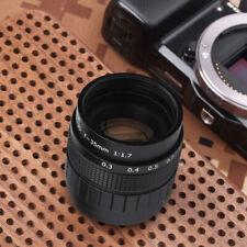 Objectif fixe Fujian 35mm f / 1.7 pour Caméra Canon Sony Olympus Pentax Set