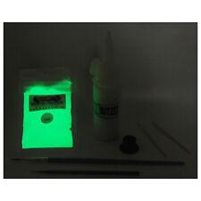 Watch lume Clock Glow In The Dark pigment powder paint kit Relume