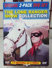 The Lone Ranger Show Collection 2 Pack DVD Western Cowboys Indians
