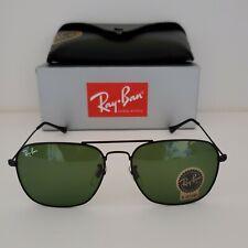 Ray-Ban Caravan RB3136 Black Frame / Green Classic G-15 Lens 58mm Sunglasses