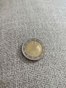 Pièce De 2 Euro Très Très Rare aigle Fédérale 2017