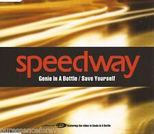 SPEEDWAY - Genie In A Bottle/Save Yourself (UK 3 Tk Enh CD Single)