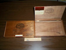 A WOODEN PADRON 3000 MADURO CIGAR BOX~ EMPTY NO FRONT CLASP FOR CRAFTS