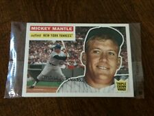 Topps 2006 National unopened pack of 4; w/ Mantle 1956 on front & 1955 on back