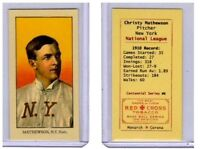Christy Mathewson, NY Giants HOFer Monarch Corona T206 Centennial reprint #6