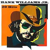 HANK WILLIAMS JR - 20 Hits (Greatest Hits) CD