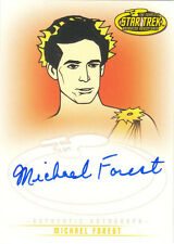 "Star Trek TOS Art & Images - A29 Michael Forest as ""Apollo"" Autograph Card"