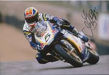 James HAYDON Signed 12x8 Red Bull Racing Superbike Photo Autograph AFTAL COA