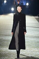 New Haider Ackermann Feimster Wool Twill Military Coat - Size 36