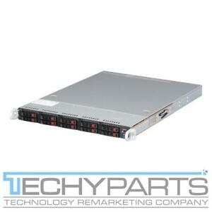 Supermicro SYS-1028R-W1CR X10DRW-i 2x LGA2011v3 Xeon E5-26xx 10Bay 2.5 1U Server