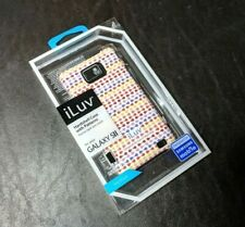 iLuv Hard Plastic Cell Phone Cover Case for Samsung Galaxy SII S II - Red