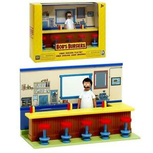 Bobs Burgers Diner Diorama Playset Figure 32