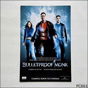 Avant Card #7487 Bulletproof Monk Movie 2003 Postcard (P661)