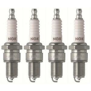 NGK SPARK PLUG x4 FOR LAND ROVER SERIES 2A 2.3L 61-71, 110 2.5L 17H 87-91,
