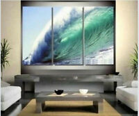 CHOP116   100% hand-painted seascape ocean wave oil painting wall art on canvas