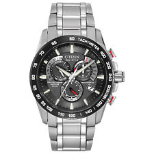 Citizen Eco-Drive Men's A-T Chronograph Black Dial 42mm Watch AT4008-51E