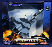 New U.S. F-15C EAGLE Military Aircraft Airplane - BRAVO TEAM 1:72 Target Exc