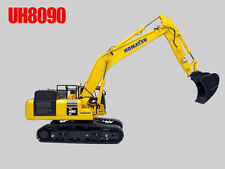 UH8090 UH Universal Hobbies Komatsu PC490LC-10 Construction Machine Diecast 1:50