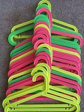 Ikea BAGIS Childrens Clothes Hangers Mixed Pastel Colours Set of 16