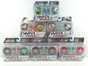 6 BANDAI Hyper Cluster Yo Yo Starter Pack Variety Speed Stamina Loop Control NEW
