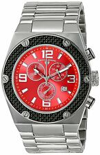 Swiss Legend Men's 40025-55 Throttle Chronograph Stainless Steel Watch