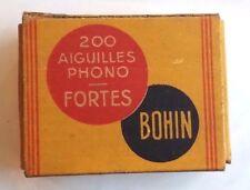 Gramophone needles BOHIN FORTES scatolina con puntine da grammofono       11/16
