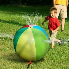 HALOFUN Splash and Spray Ball, 29.5in-Diameter Inflatable Sprinkler Water Ball O