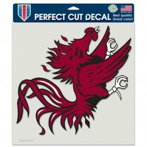 "South Carolina Gamecocks 8""x8"" Perfect Cut Car Decal [NEW] Auto Sticker Emblem"