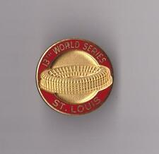 St. Louis 13th World Series Press Pin Busch Stadium Cardinals Baseball BALFOUR