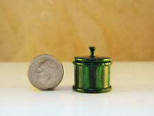 Hw miniature turning green dymalux lidded container a