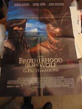 "Brotherhood Of The Wolf Original 2001 One-Sheet 27x41"" Poster N1563"