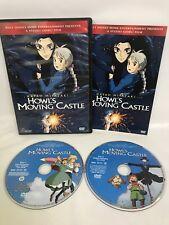 Howls Moving Castle DVD - Disney - Hayao Miyazaki