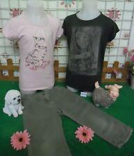 vêtements occasion fille 8 ans,tee-shirt,corsaire,tee-shirt