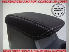 VW AMAROK  NEOPRENE  CONSOLE LID COVER (WETSUIT MATERIAL)  NOV 2011 - CURRENT