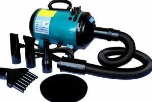 Go Pet Club DT-688 Step-Less Adjustable Speed Pet Dryer, Turquoise