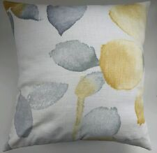 """Cushion Cover in Next Ochre Watercolour Bloom 16"""" Matches Curtains"""