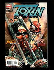Toxin Limited Series #2 VF+ Crain Razor Fist New Avengers Tie-In